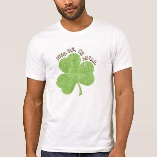 Faded Shamrock, Kiss Me I'm Asian T-shirts