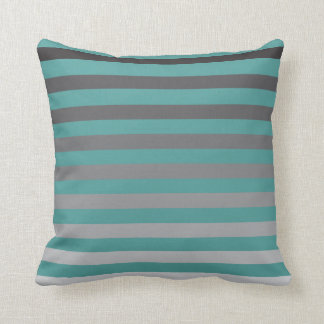 Faded Stripes Throw Pillow