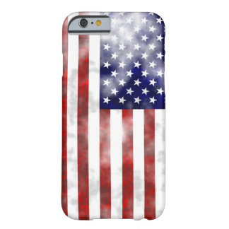 Faded usa nice pattern flag barely there iPhone 6 case