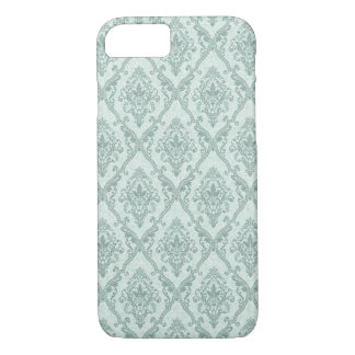 Faded vintage damask pattern iPhone 8/7 case