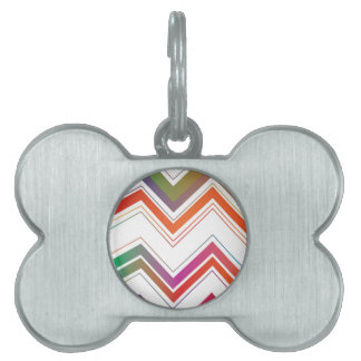 Fading Chevron Mountains.jpg Pet Tag