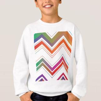 Fading Chevron Mountains.jpg Sweatshirt