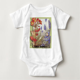 fae1polyanthusgrapelg, fairy berrys baby bodysuit