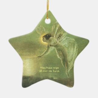 Fae - Fairy Angle Star shape Christmas Ornemant Christmas Ornament