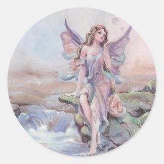 FAERIE BUBBLES by SHARON SHARPE Classic Round Sticker