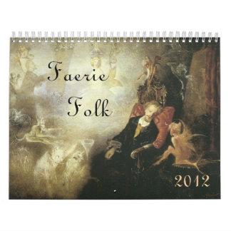 Faerie Folk Victorian Calendar