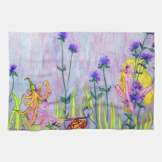 Faerie Garden Kitchen Towel