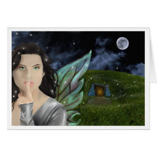 faerie land greetingcard greeting card