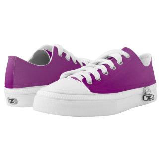 Faerie Purple Nevaeh Custom Zipz Low Top Kickers Printed Shoes