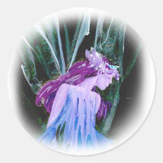 Faerie Queen Round Sticker