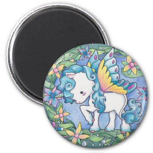 Faerie Unicorn Magnets