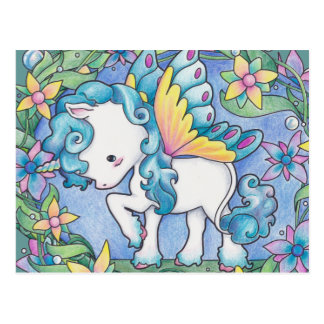 Faerie Unicorn Postcard