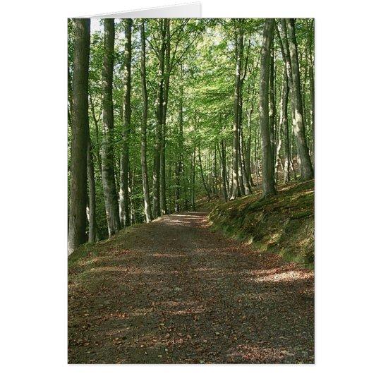 Faerie Wood Card