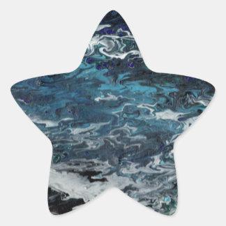 Faeries Aquatica Abstract Star Sticker