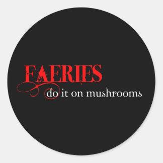 Faeries are so funny sticker