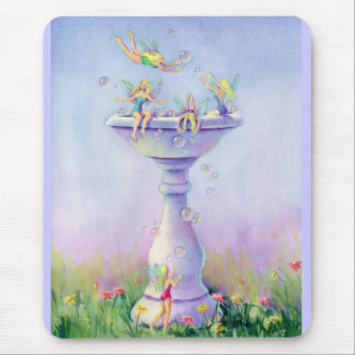 FAERIES BUBBLEBATH by SHARON SHARPE Mouse Pad