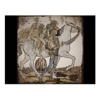 Faeries on Horseback Post Cards