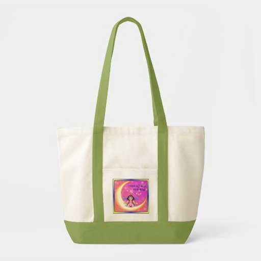 Faery Nice Day Pixel Art Canvas Bags