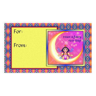 Faery Nice Day Pixel Art Business Card Template