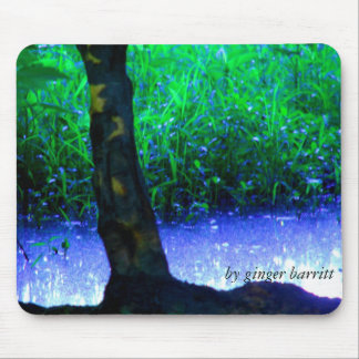 Faery Pool, by ginger barritt Mouse Mat
