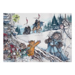 Faery Snowball Fight Poster