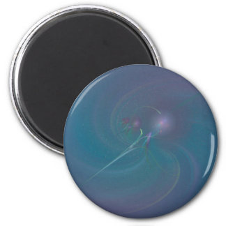 Faery Wand Abstract Art 6 Cm Round Magnet