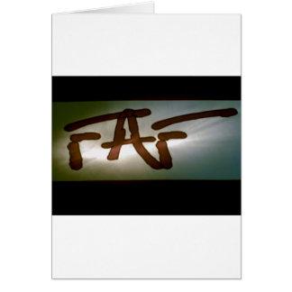 FAF Spotlight Card