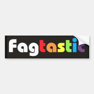 Fagtastic (Banner) Bumper Sticker