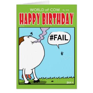 #FAIL CARD
