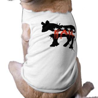 Fail Democrat Doggie T Shirt