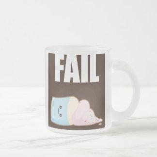 Fail Frosted Glass Mug