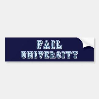 Fail University Bumper Sticker