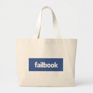 failbook canvas bags