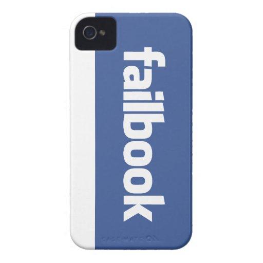 failbook iPhone 4 Case-Mate cases