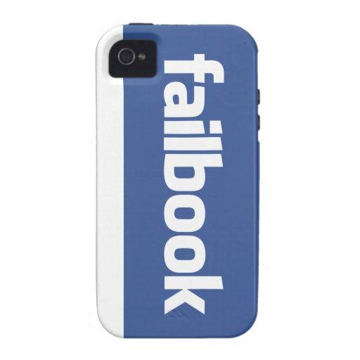 failbook iPhone 4/4S covers