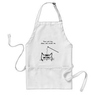 Failed cat toys - Funny cat apron