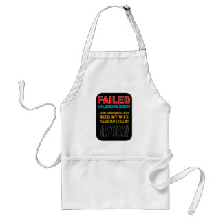 FAILED MAYORAL CANDIDATE STANDARD APRON