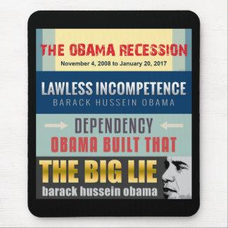 Failed President Obama Mouse Pad