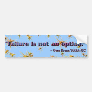 Failure bumper sticker
