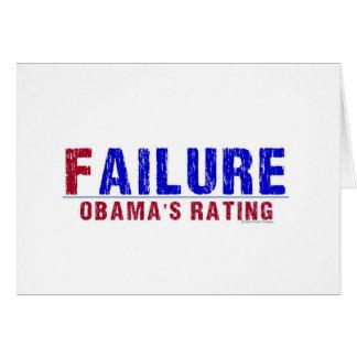 FAILURE GREETING CARD