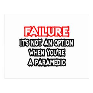 Failure...Not an Option...Paramedic Postcard