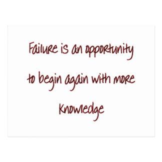 failure postcard