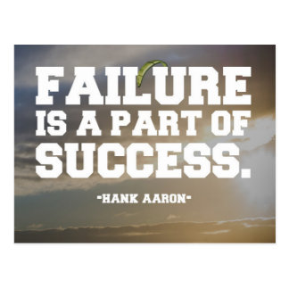 Failure Quote Postcard