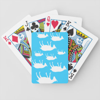 Fainting Goats Bicycle Playing Cards
