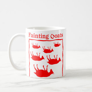 Fainting Goats Coffee Mug