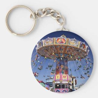 fair carnival ride key chains