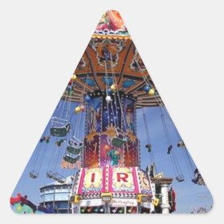 fair carnival ride triangle sticker