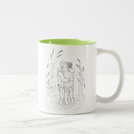Fair Game colouring book mug