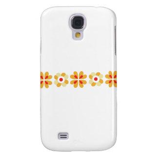 Fair isle floral pattern folk art print galaxy s4 case