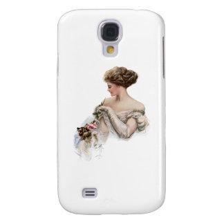 Fair Maiden Teases a Kitten Samsung Galaxy S4 Covers